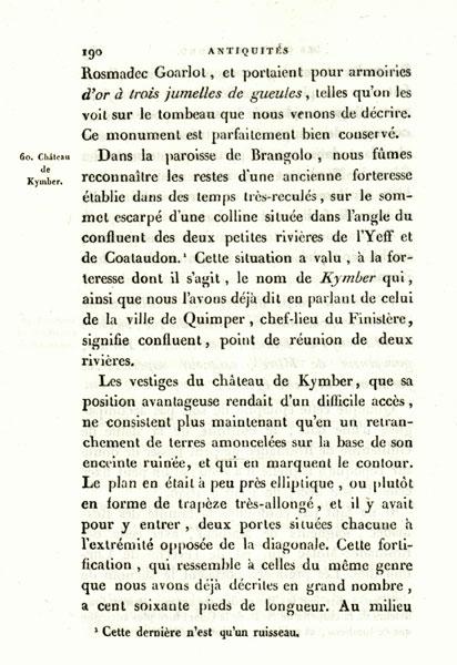 Les K barrés sur les documents et monuments Frem-190