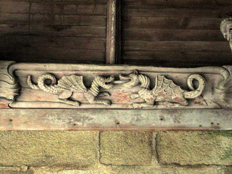 CHATELAUDREN / Kastell-Aodren Tertre-dragons