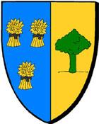 Treffieux, en Loire-Atlantique, toponymie Blason