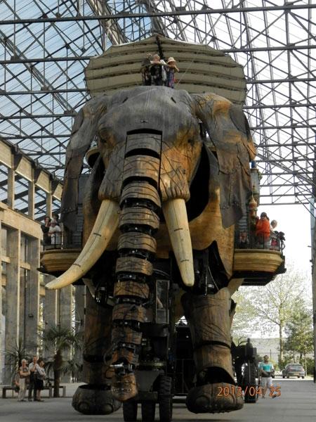 NANTES * NAUNTT * NAONED Machines-elephant-214