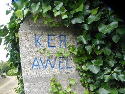 Les noms de maisons en langue bretonne Ker-awel-trestel