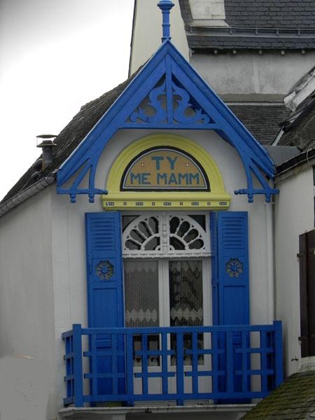Les noms de maisons en langue bretonne Ty-me-mamm-quiberon
