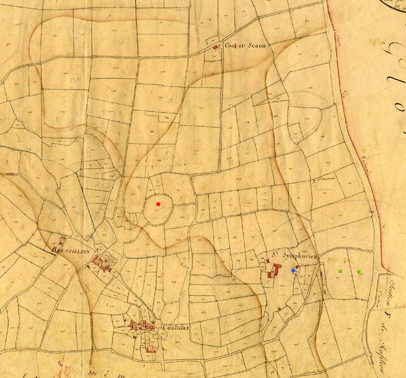 La forêt de Brocéliande Cadastre-1825.-3p163_047