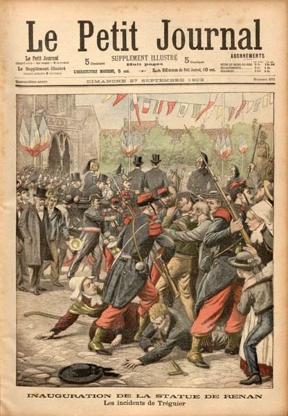 TREGUIER / Landreger Petit-journal-27-09-1903