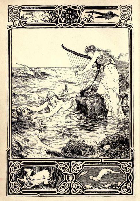 Harpe / Telenn Harpe-sirene-naufrageuse